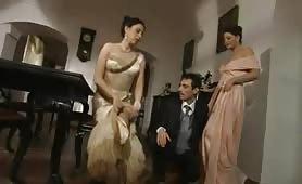 Orgia con puttane di lusso come Erica Neri e Jessica Fiorentino