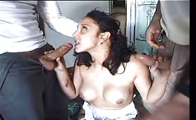 Natasha Kiss - Stuprata in Doppia penetrazione
