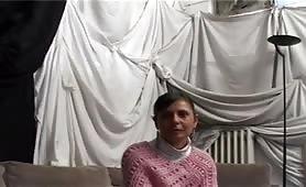 Francesca di Salerno audizione con ditalino