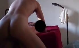 dilettante maschio prende dilettante femminile da dietro, eiacula