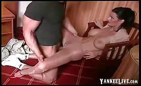 più caldo collant lucido sesso humping !!