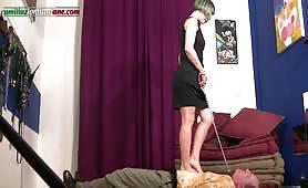 Letizia mistress porca punisce Claudio