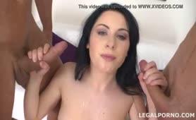 Luana Oara due cazzi nel culo - doppia inculata