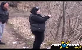 Maria grassa tettona - Succhia i preservativi usati
