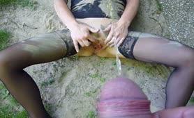 Carmela ditalino e le piscio addosso a MonteSilvano