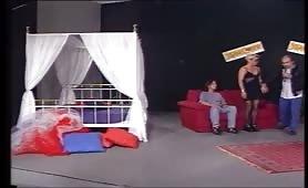 Chantal e Roberto casting porno in diretta