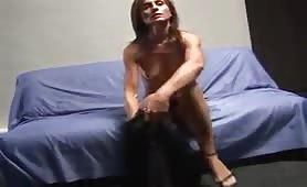 Bianca audizione porno con abuso (fake)