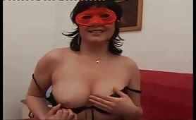 Francesca milfona in casting porno