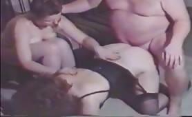 Brutto uomo grasso scopa una donna matura
