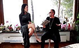 Giulia Lagherta sexy intervista