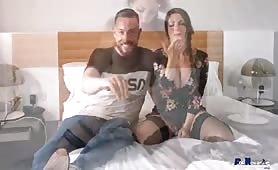 Lily Veroni tettona in audizione porno