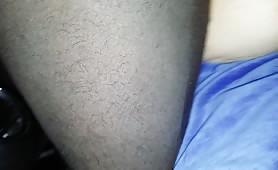 My friend black cock fuck end cum inside my wife