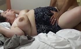 Signora obesa scopata