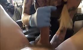 Fisting e masturbazione con piedi