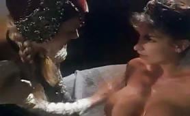 Calda inculata in porno classico